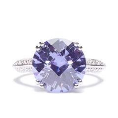 Avon Sterling Silver Lavender Ring